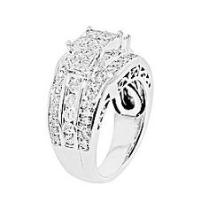 jcpenney 2 ct tw diamond engagement ring - Jcpenney Jewelry Wedding Rings