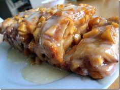 Drool worthy!!! Apple Fritter Bread