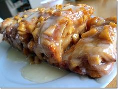 Drool worthy!!! Apple Fritter Bread