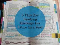 5 Tips for Reading through the Bible in a Year {MissionalWomen.com}