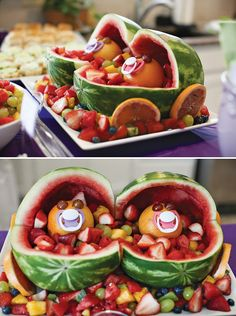 Trendy Baby Shower Food For Girl Appetizers Snacks Super Bowl Baby Shower Food For Girl, Baby Shower Cakes, Baby Boy Shower, Baby Shower Fruit Tray, Twin Girls, Twin Babies, Baby Twins, Baby Boys, Trendy Baby