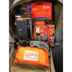 5.11 Go Bag Starter Kit Style# 50362  0.0(No reviews) Be the first to Write a Review The 5.11 Go Bag provides you with the essentials of a tactical emergency preparedness kit. The M.O.A.B. 6 comes packed with survival necessities to keep you warm and bring light to darkness. Also, features a cutting tool, compass and med kit at one low price.
