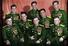 Military pilots of the USSR (WWII heroes)