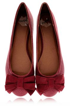 dark red ballerinas Accoutrement, Chaussure, Chaussures En Peau De Serpent,  Rouge Foncé, e4bee6f85b4d