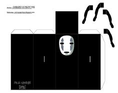 no face / chihiro origami Cool Paper Crafts, Paper Crafts Origami, Foam Crafts, Diy Arts And Crafts, Diy Paper, Totoro, Paper Doll Template, Anime Crafts, Origami Templates