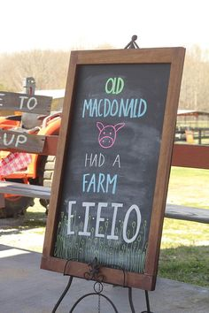 Resultado de imagen para farm themed birthday party
