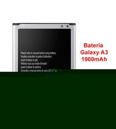 Batería Interna de Recambio Para Samsung Galaxy A3 de 1900mAh modelo 806976 - Batería paraSamsung Galaxy A3 Cuando vemos que nuestra batería deja de funcionar y no tenemos la misma duración como cuando la compramos, esto se debe al numero de cargas que hacemos, por lo que cuantas mas veces la cargues su durabilidad se ira perdiendo, por lo que te darás cuenta que no a ter... - http://buscacomercio.es/producto/bateria-interna-de-recambio-para-samsung-galaxy-a3-de-1900ma