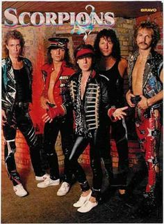 Scorpions Living For Tomorrow (Unreleased demo son Hair Metal Bands, 80s Hair Bands, Lady Antebellum, Pop Rock, I Love Music, Music Is Life, Scorpion, 80s Rock Bands, Rock Poster
