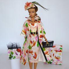 "OOAK Handmade Vintage Barbie/Silkstone Fashion by Roxy- "" SOMETHING SPICY "" | eBay"