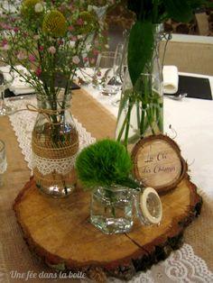 Decoration Table Ronde Mariage : Décoration de table mariage en 28 idées pour la table ronde