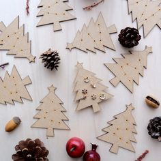 Wooden Christmas Tree Card with Earrings 01 by VanesDay on Etsy Wooden Christmas Trees, Christmas Tree Cards, Christmas Gifts, Gift Ideas, Holiday Decor, Earrings, Etsy, Home Decor, Holiday Gifts