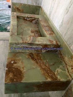 Onyx Marble, Sink Top, Bathroom Countertops, Green Onyx, High Gloss, Sinks, Outdoor Decor, Design, Home Decor
