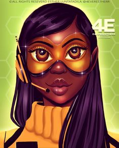 🐝✨ALLISUN-BEE ✨🐝 I thought this could be a cool book cover , so I made it into a book cover . Black Love Art, Black Girl Art, Black Is Beautiful, Black Girl Magic, Art Girl, Pretty Black, Black Girls Pictures, Drawings Of Black Girls, Girl Drawings