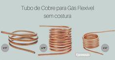 #consigaspecas - Tubo de Cobre para Gás Flexível sem costura, tem na www.consigaspecas.com.br