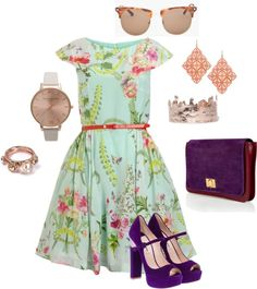 """""""Mad-Hatter Tea Party"""" by jordan-ashley-moore ❤ liked on Polyvore"""