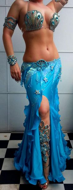 Yes, more mermaid belly dance costumes.