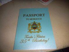 Moroccan Party Invite