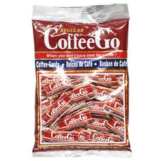 CoffeeGo Regular Coffee Hard Candy 4.05 oz from Indonesia
