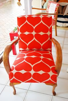 Flourish and Blume's Vintage Heart Chair