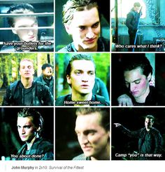 [gifset] #2x10 #SurvivalOfTheFittest #JohnMurphy