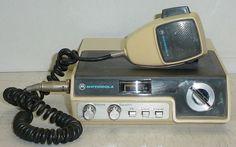 Vintage Motorola 4022 CB Radio As-Is