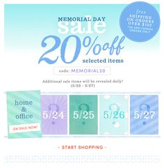 Memorial Day Sale // ruche // colors // water colors // texture // layering // graphic design // layout