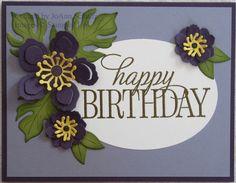 Birthday Botanicals by jreks - Cards and Paper Crafts at Splitcoaststampers