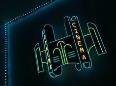 Custom EL Wire Neon Sign Foam Board by ADreamersHome on Etsy | Neon ...
