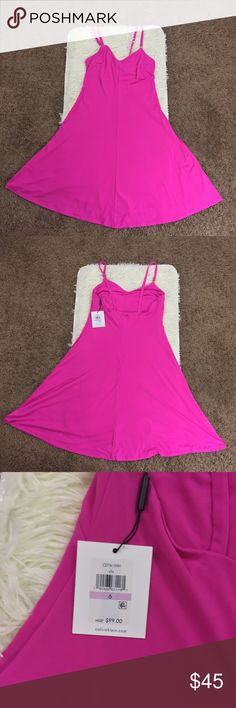 Calvin Klein Pink Sleeveless Cami Fit& Flare Dress New with tags. Perfect for any occasion. Feel free to ask any questions or make an offer Calvin Klein Dresses Midi