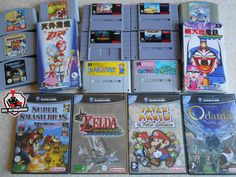 Nintendo : SNES - N64 - GameCube