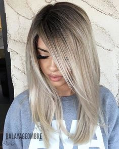 Looking for unique hair color ideas in Although there are much variations in hair colors to wear but the beautiful ice beige hair color is also one of the amazing hair colors to sport in Don't search any more for different hair colors, just we Beige Hair Color, Hair Color And Cut, Cool Hair Color, Light Hair Colors, Ash Blonde Hair, Blue Hair, Light Ash Blonde, Winter Hairstyles, Unique Hairstyles