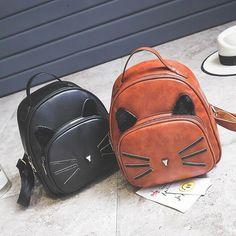Kitty big ear backpack – Hand Pick Style