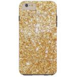 Girly Gold Glitter V4 Tough iPhone 6 Plus Case #Girly iPhone 6/ 6S, 6/ 6S Plus Case designs ready be purchased or customized. Check out http://www.zazzle.com/cuteiphone6cases/gifts?cg=196418217997145202&rf=238478323816001889&tc=girlycase-hokhtoanpin