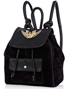 Rihanna for River Island  Leather Backpack