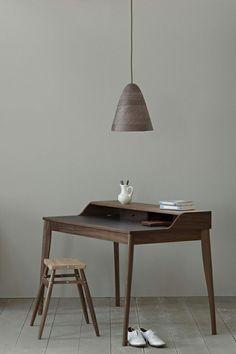 I really miss having my vintage oak drafting desk. Someday again soon! Table Furniture, Furniture Design, Office Furniture, Furniture Layout, Luxury Furniture, Interior Architecture, Interior Design, Design Minimalista, Simple Desk