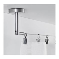 DIGNITET Curtain wire, stainless steel