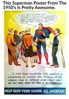 Superman of the 50s even thinks today's Republicans are Un-American!