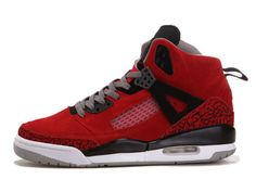 Basket Jordan - Air Jordan A Flight Homme Rouge/Noir magasin