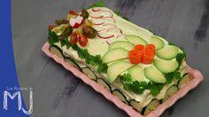 Pastel de pan de molde con atún / Tuna cake bread