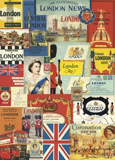 london vintage prints - you better believe i'm going to london someday soon! this has me written all over it!
