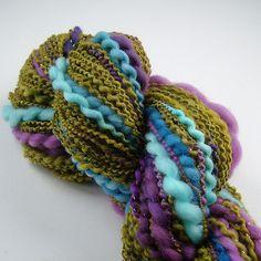 Handspun, merino, lurex, dyeing | Renata Holková | Flickr