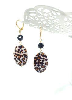Smart Earrings Rings Silver Plastic Animal Print Jewel Jewelry & Watches Diamonds & Gemstones