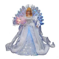 "12"" LED Fiber Optic Angel"