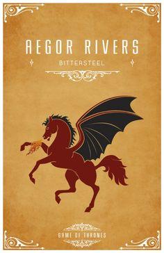 Aegor Rivers. Game of Thrones house sigils by Tom Gateley. http://www.flickr.com/photos/liquidsouldesign/sets/72157627410677518/