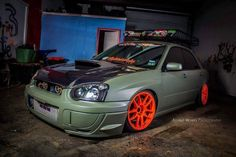 Dont care for the look of a lowered STI but its still an STI...