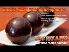 In this video, I demonstrate how to create filled chocolate truffles. I will also demonstrate how to make raspberry white chocolate ganache. Magic Chocolate Cake, Chocolate Dome, Hot Chocolate Gifts, Christmas Hot Chocolate, Chocolate Shells, Hot Chocolate Bars, Chocolate Filling, How To Make Chocolate, Chocolate Chocolate
