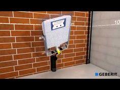 Geberit Combifix Italia - Montaggio cassetta