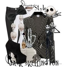 """Disney Style : Jack Skellington"" by missm26 on Polyvore"