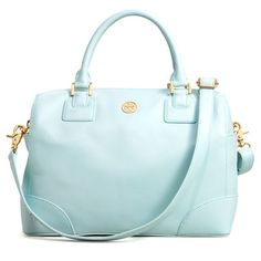 pale turquoise tory burch bag. This is definitely next! I love my new blush Thea bag from Tory!