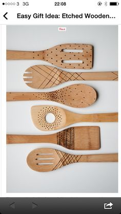 DIY in the Kitchen: Carve Your Own Wooden Spoons